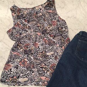 Loft sleeveless blouse
